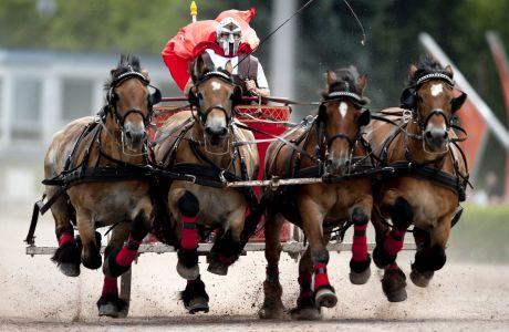 'Legend Ben Hur - the Great Race'  - αναπαράσταση αρχαίων αρματοδρομιών στη Γερμανία