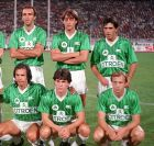 Οι ποδοσφαιριστές του Παναθηναϊκού πριν από την έναρξη της σεζον 1984-85