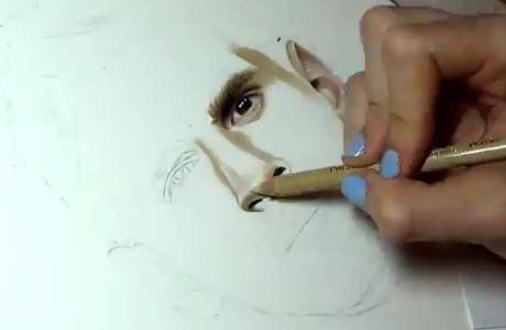 Ζωγραφίζοντας τον Μέσι (VIDEO)