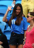 foto IPP/imago/BPI natal 24-06-2014 campionati mondiali di calcio italia-uruguay nella foto Federica Riccardi fidanzata di cerci WARNING AVAILABLE ONLY FOR ITALIAN MARKET
