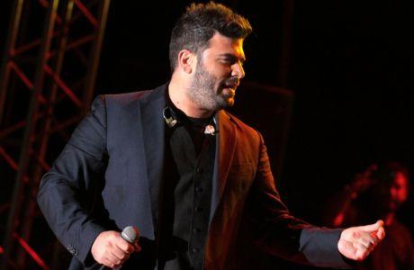 Ο Παντελής Παντελίδης, η Τάμτα και η Ειρήνη Παπαδοπούλου σε συναυλία στον Ιππικό Όμιλο Κουρούτας, το Σάββατο 9 Αυγούστου 2014 στην Κουρούτα Αμαλιάδας. (EUROKINISSI/ILIALIVE.GR/ΓΙΑΝΝΗΣ ΣΠΥΡΟΥΝΗΣ)