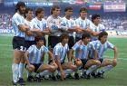 Η Αργεντινή, όπως παρατάχθηκε πριν από τον τελικό με τη Δυτική Γερμανία, το 1986
