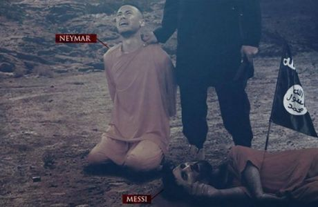 Όχι μόνο ο Μέσι: μίσος από τον ISIS και για τον Νεϊμάρ!