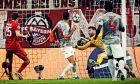 O Σα πραγματοποίησε σπουδαίες επεμβάσεις, ωστόσο αυτό δεν ήταν αρκετό ώστε ο Ολυμπιακός να αποφύγει την ήττα κόντρα στη Μπάγερν στην Allianz Arena (2-0), στο πλαίσιο της 4ης αγωνιστικής των ομίλων του Champions League (ΦΩΤΟΓΡΑΦΙΑ: LATO KLODIAN / EUROKINISSI)