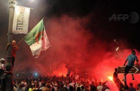 Δύο νεκροί Αλγερινοί στα πανηγύρια για την πρόκριση