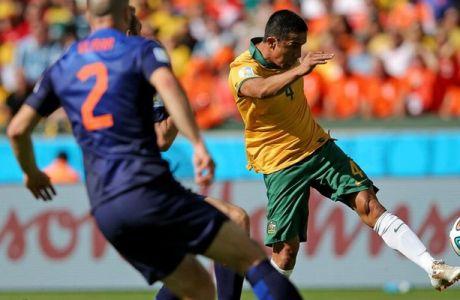 Τα γκολ του Αυστραλία-Ολλανδία (VIDEOS)