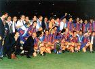 Η Μπαρτσελόνα με το πρώτο της Κύπελλο Πρωταθλητριών το 1992.