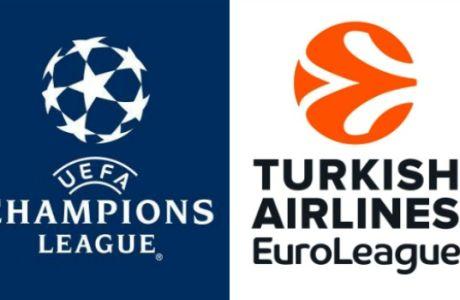 Ευκαιρία για ταμείο σε Champions League και EuroLeague με ειδικά στοιχήματα!