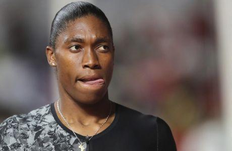 Γυναίκες του αθλητισμού ενάντια στην Κάστερ Σεμένια