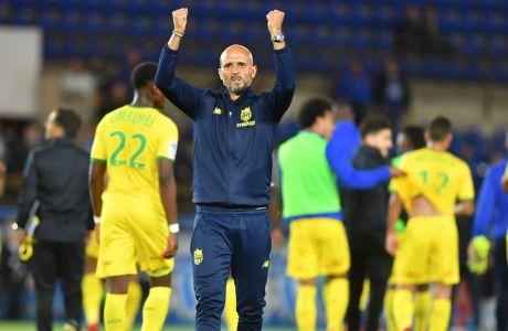 Ο νέος προπονητής της ΑΕΚ, Μιγκέλ Καρντόσο, κατά τη θητεία του στη Ναντ