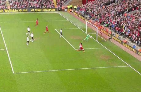 Ο Στάριτζ μείωσε για τη Λίβερπουλ σε 2-1 (VIDEΟ)