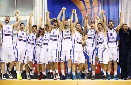 ΤΟ ΣΗΚΩΣΑΝ! Πρωταθλητές οι Εφηβοι: Ελλάδα - Τουρκία 64-61