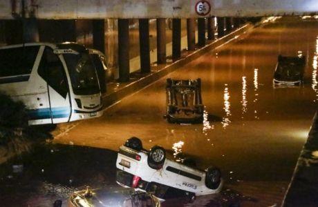Το μήνυμα του Ολυμπιακού για τα θύματα των πλημμυρών