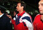 Ο Ντούσαν Μπάγεβιτς την ημέρα που επέστρεψε στη Νέα Φιλαδέλφεια ως αντίπαλος της ΑΕΚ
