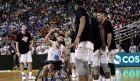 The Adetokunbo bros team vs Greek National Basketball team 2005 at Alexandreio Melathron Nick Galis Hall in Thessaloniki, Greece on June 18, 2017. / Adetokunbo bros     2005,  , , 18  2017.