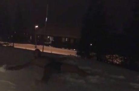 Βγήκε γυμνός στα χιόνια ο Ζλάταν!