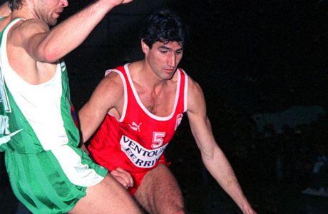 Ο Νικόλας Μανιάτης έπεσε κάτω από τον... Τζίμη