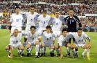 Η ενδεκάδα της Ελλάδας στο ματς με την Ισπανία στη Σαραγόσα για τα προκριματικά του EURO 2004.