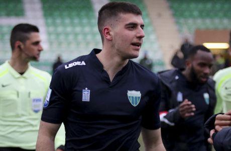 Ο Φώτης Ιωαννίδης του Λεβαδειακού σε στιγμιότυπο της αναμέτρησης με την Ξάνθη για τη Super League 2018-2019 στο 'Xanthi FC Arena' | Κυριακή 24 Φεβρουαρίου 2019