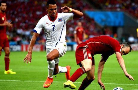 Ισπανία - Χιλή 0-2 (VIDEO)