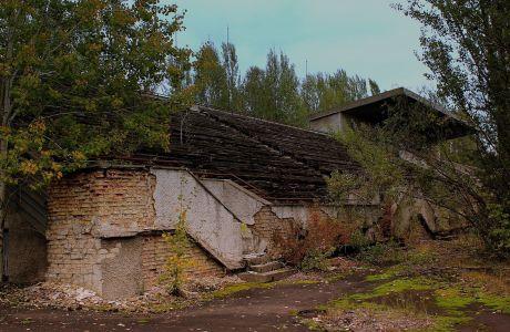 Το γήπεδο-φάντασμα του Τσερνόμπιλ προκαλεί ανατριχίλα
