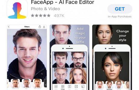 Το FaceApp απέκτησε σε χρόνο ρεκόρ φωτογραφίες 100 εκατ. χρηστών- Πόσο ασφαλή είναι τα προσωπικά σας δεδομένα;