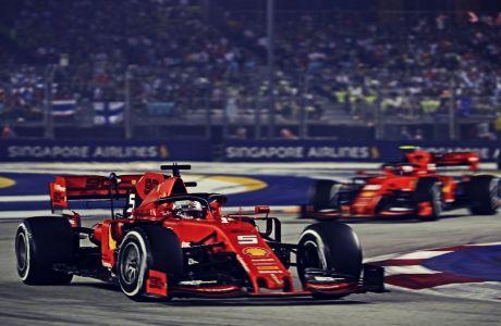 Η Ferrari έκανε το 1-2 στη Σιγκαπούρη κατά λάθος