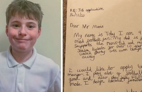 Ο 9χρονος που φιλοδοξεί να ''φάει'' τη δουλειά του Γουέιν Ρούνεϊ