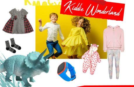Kiddie Wonderland: 10 & 1 ρούχα και αξεσουάρ για μικρά παιδιά με μεγάλο στιλ