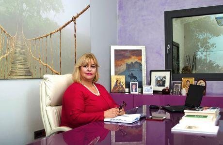 Για την Κατερίνα Καρνιαδάκη, η γυναικεία επιχειρηματικότητα είναι δείγμα μιας ώριμης κοινωνίας