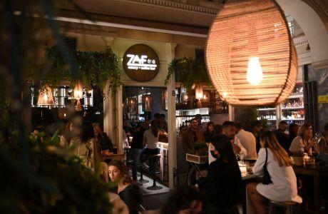 Cocktails, brunch και τις πιο ωραίες φάτσες στην πόλη θα βρεις στο Zaf